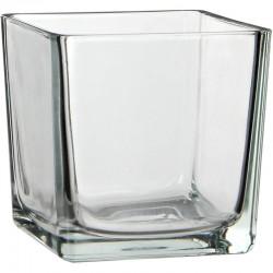 MERCURY Vaso Vetro Cubo