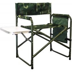 XONE Poltrona regista con tavolino e sacca portaoggetti camouflage