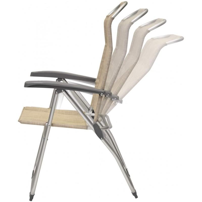 XONE Poltrona mare Pro reclinabile beige