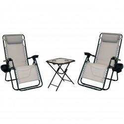 XONE Set Paradise Lounge con tavolino