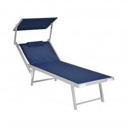 XONE Lettino Spiaggia Pro blu