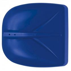 DI MARTINO Pala neve 40 blu profilo in alluminio