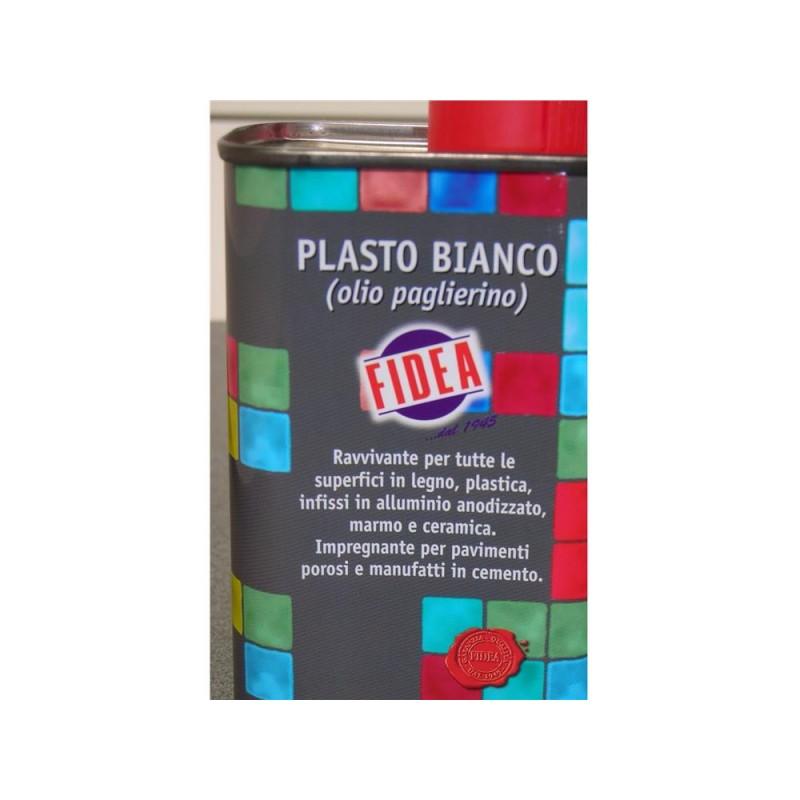FIDEA Plasto ravviva legno/alluminio/pavimento bianco