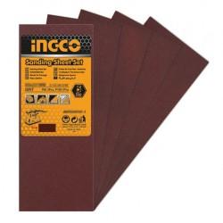 INGCO Set 5pz carta abrasiva per FS35028
