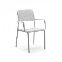 NARDI OUTDOOR Bora sedia bianco