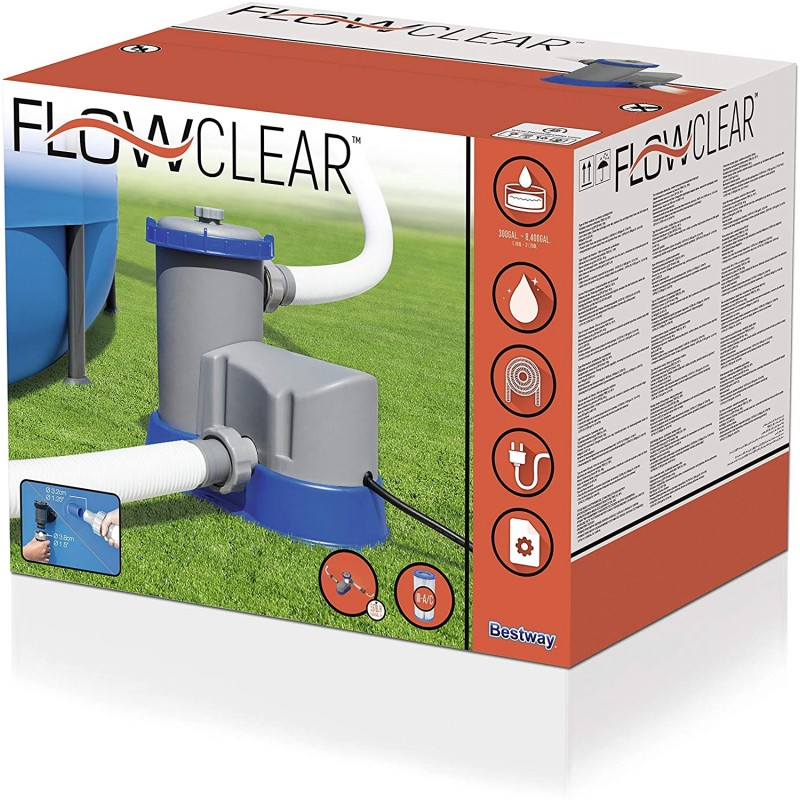 BESTWAY Pompa filtro lt 5678/h