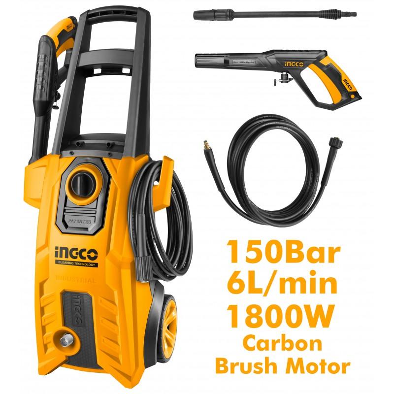 INGCO Idropulitrice 1800w 150bar c/acces.
