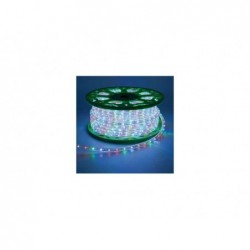 LOTTI Bobina tubo luminoso 1620 led a luce fissa 45 mt multicolor
