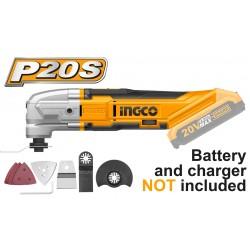INGCO Multifunzione batteria 20v nudo
