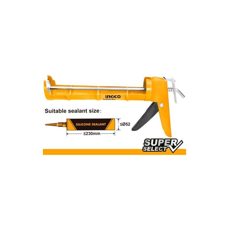 INGCO Pistola per silicone sp. 0,8