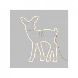 LOTTI Renna cucciolo 480 led classic neon bifacciale 230v cavo bianco