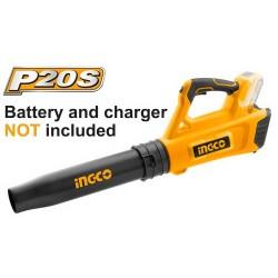 INGCO Soffiatore 20v batteria al litio nudo