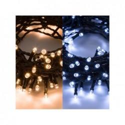 LOTTI 600 led luce bianco caldo e freddo con controller 8 giochi 26,50 mt