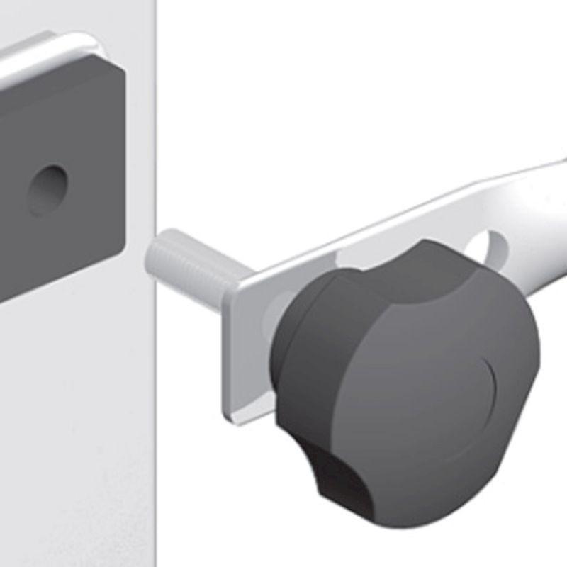 MARCHETTI SCALIFICIO Minio trabattello alluminio h1,63 con piano lavoro