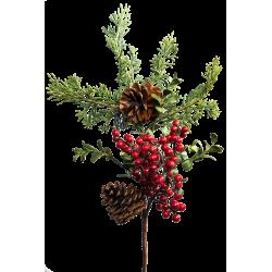 XONE Composizione floreale natalizia