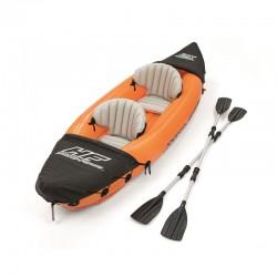 BESTWAY Kayak 2 posti 321x88cm remi alluminio inclusi