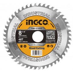 INGCO Disco di ricambio sega circolare 210mm - 48 denti