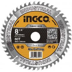 INGCO Disco di ricambio sega circolare 210mm - 60 denti