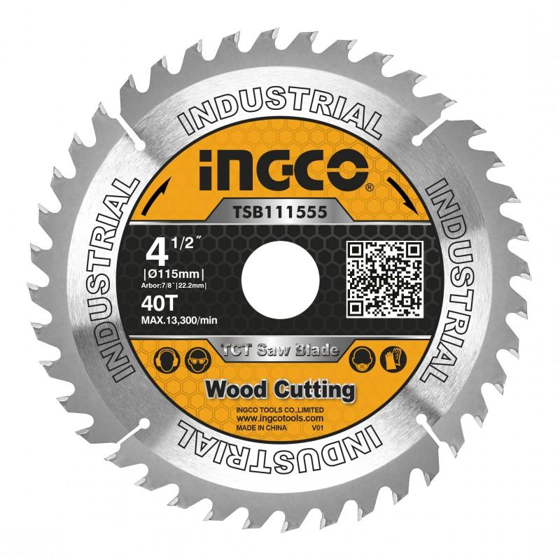 INGCO Disco di ricambio smerigliatrice angolare 115mm - 40 denti