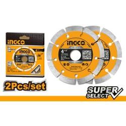INGCO Disco diamantato da 115mm