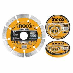 INGCO Disco diamantato 125mm 10pz box