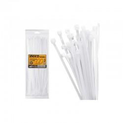 INGCO Fascette nylon 3,6x200mm 100pz