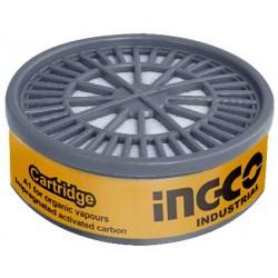 INGCO Filtro semimaschera antigas/vapori organici