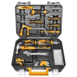 INGCO Set utensili 117pz in valigetta
