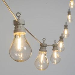 LOTTI Catena party light 10 lampadine goccia led