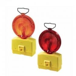 NERI Lampeggiatore stradale rosso a led