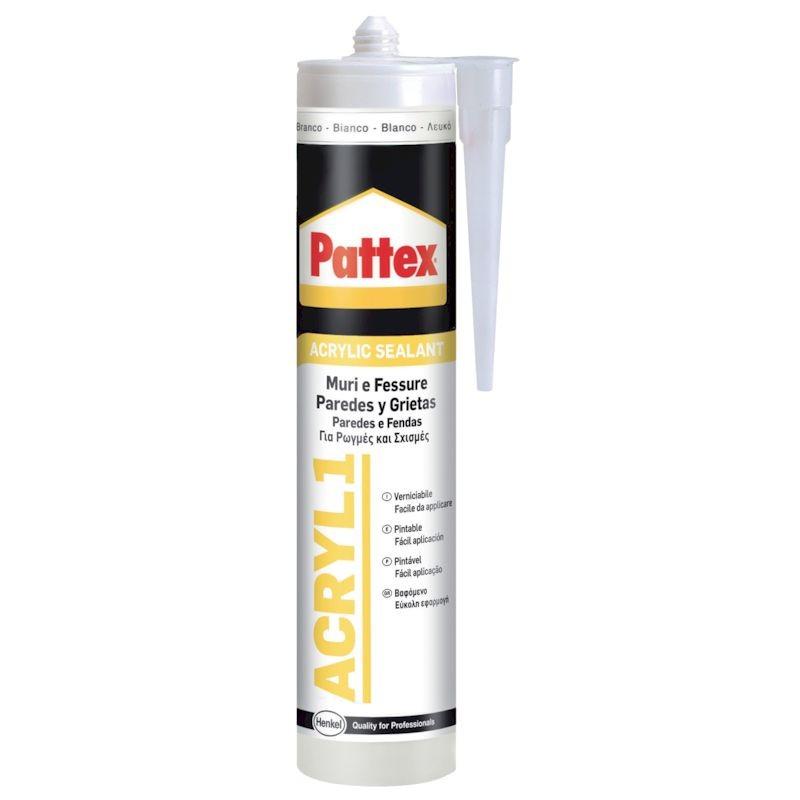 HENKEL Acril one muri e fessure bianco 300 ml