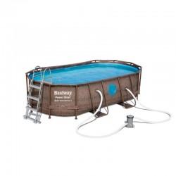 BESTWAY Piscina Power Steel Swim 427x250x100
