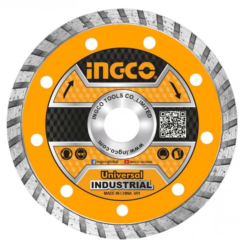 INGCO Disco Diamantato Turbo Corona Continua 230mm