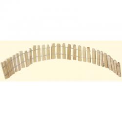 ROSSI ROSA Staccionata in legno 35x4 cm