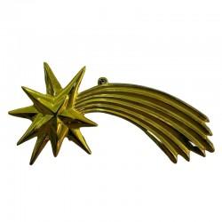 ROSSI ROSA Cometa oro metalizzato 15 cm