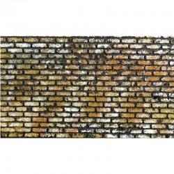 ROSSI ROSA Pannello muro mattonato colorati
