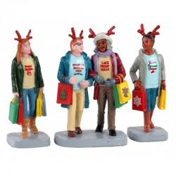 LEMAX Shopping Tra Ragazze Set 3 - Girls Christmas Shopping Trip