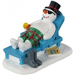 LEMAX Pupazzo Di Neve In Relax - Relaxing Snowman