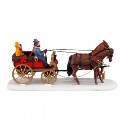 LEMAX Famiglia In Carrozza - Carriage Cheer