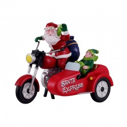 LEMAX Babbo Natale in Moto - Santa Express