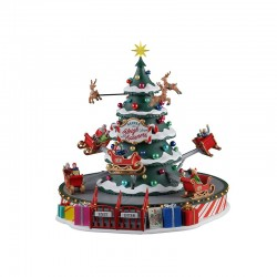 LEMAX Giostra delle Renne - Santa'S Sleigh Spinners