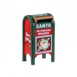 LEMAX Buca delle Lettere di Natale - Christmas Mailbox