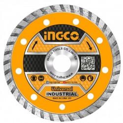 INGCO Disco Diamantato Turbo Cor. Cont. 115mm