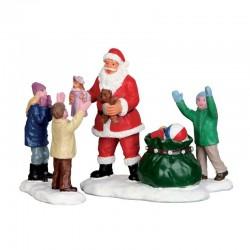 LEMAX Incontro Con Babbo Natale Set 3 - It's Santa!