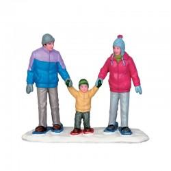 LEMAX Famiglia Sulla Neve - Snowshoe Family