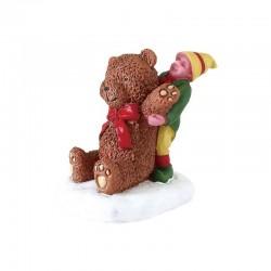 LEMAX Soggetto Piccolo Elfo con Orso - Big Bear