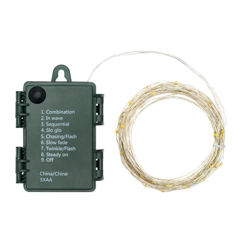 LOTTI 80 Microled Bianco Caldo Interno/Esterno A Batteria