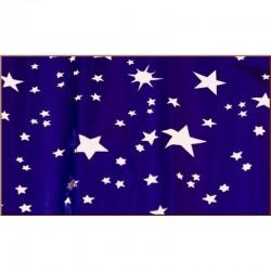ROSSI ROSA Rotolo carta cielo metalizzata stelle argento 70x100