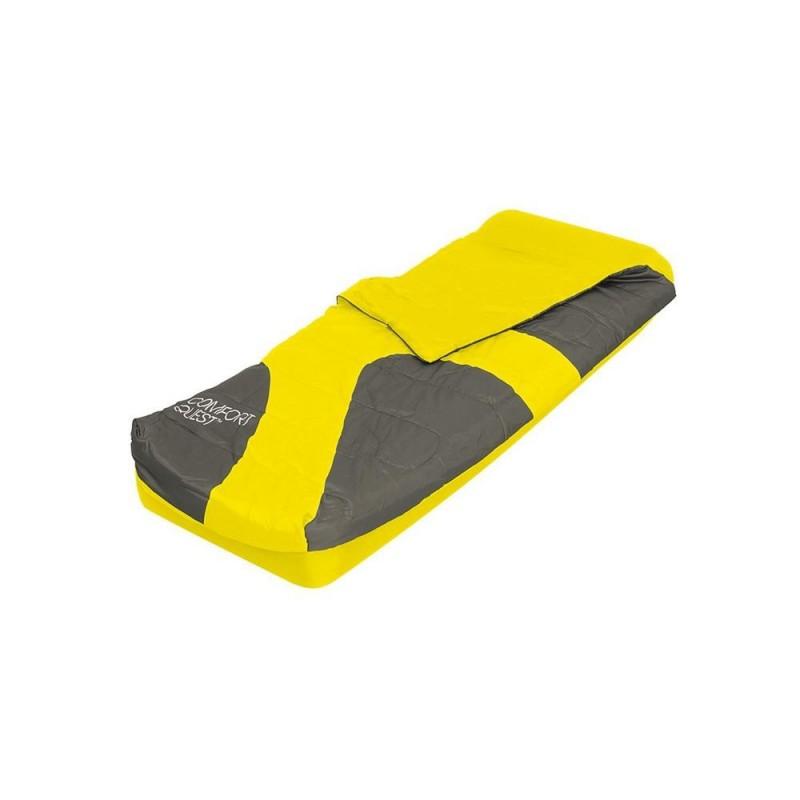 BESTWAY Materassino singolo con sacco a pelo cm. 185x76x22