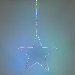 LOTTI Stella 2D ø55cm MicroLED Multiflash RGB con cavo luminoso